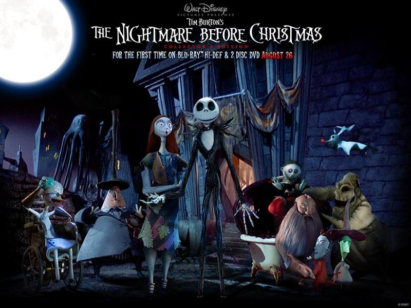 NightmareBeforeChristmasWallpaper800