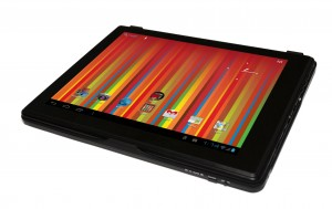 Gem10313bk top showing tablet front angled