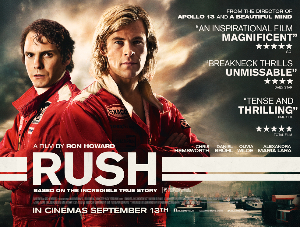 Rush - Movie Poster - a film by Ron Howard