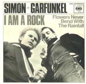 Simon & Garfunkel I am a rock