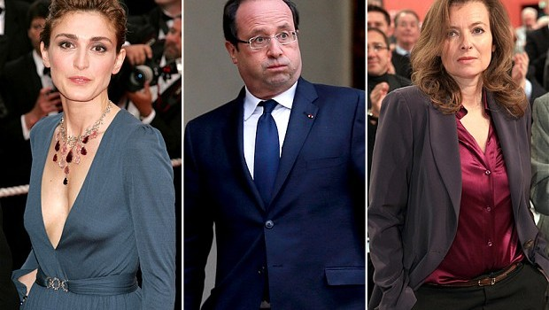 Francois Hollande and his ladies