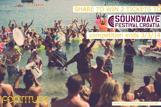 win tickets to soundwave festival croatia