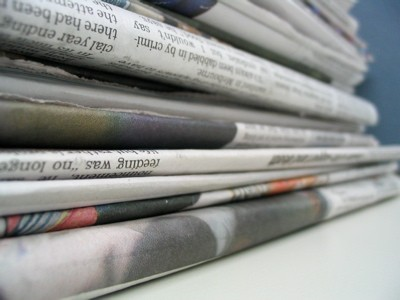 folded-newspapers