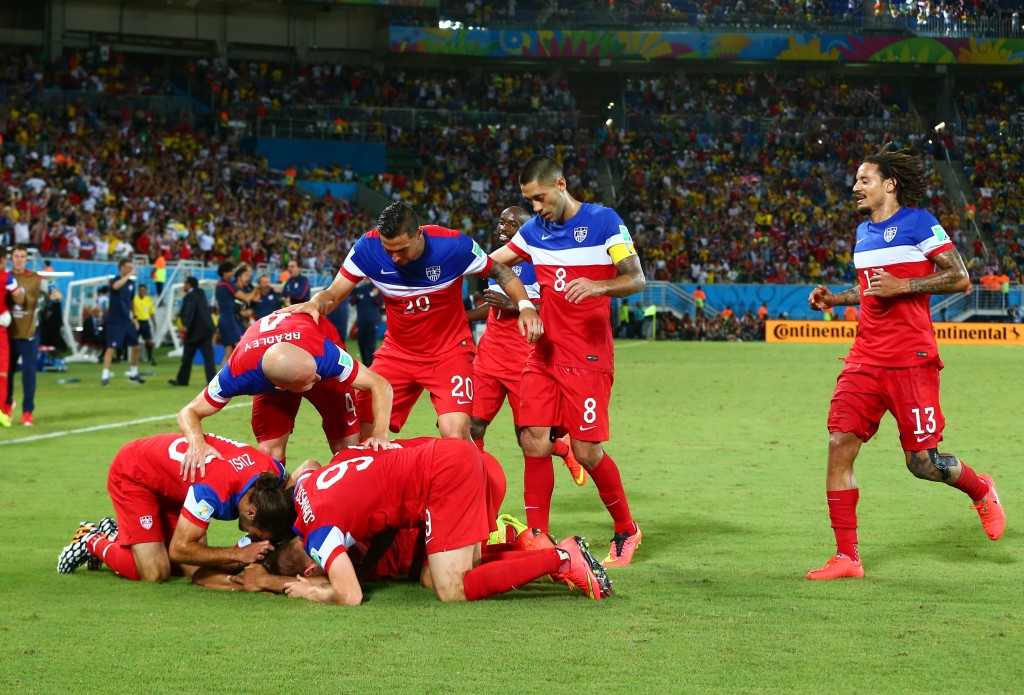 USP SOCCER: WORLD CUP-GHANA VS USA S SOC BRA