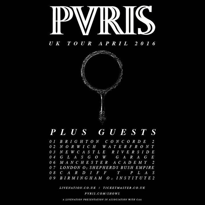 UK PVRIS tour April 2016