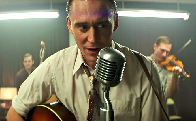Tom Hiddleston:Hank Williams