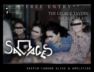 House of Savages Aug