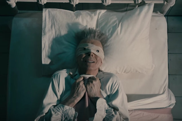 Bowie - Lazarus (via Billboard)