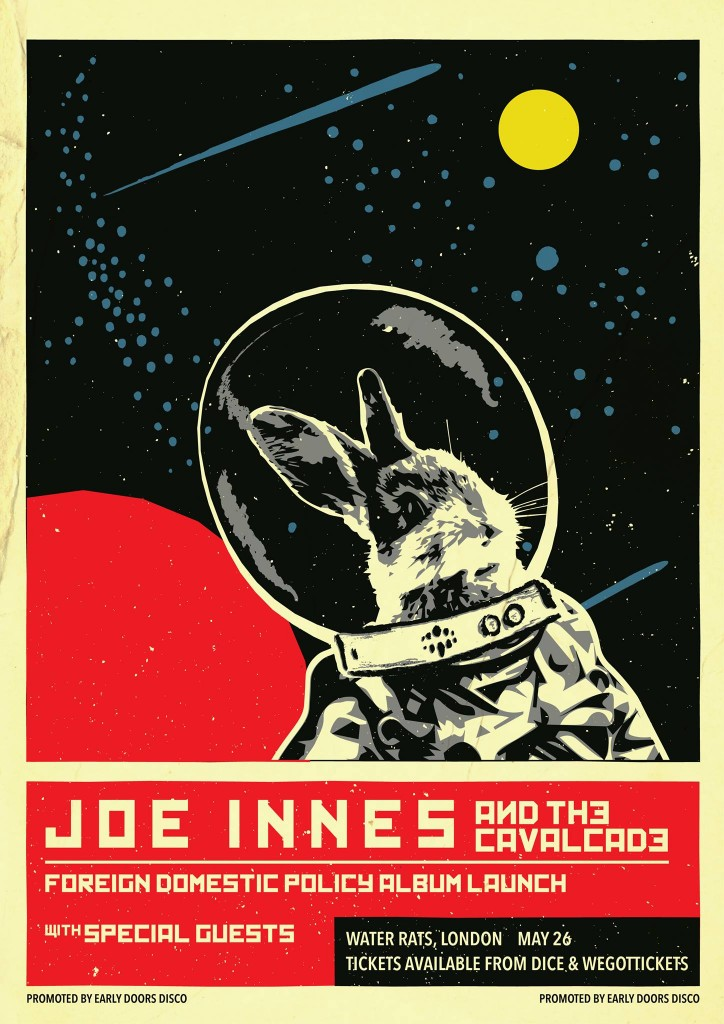 Joe Innes Launch Poster - Water Rats