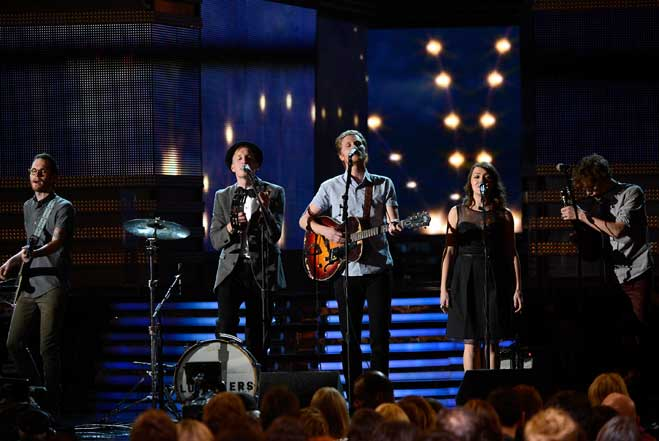 lumineers-grammys-holding