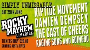 Rocky Mayhem Revolving Graphic