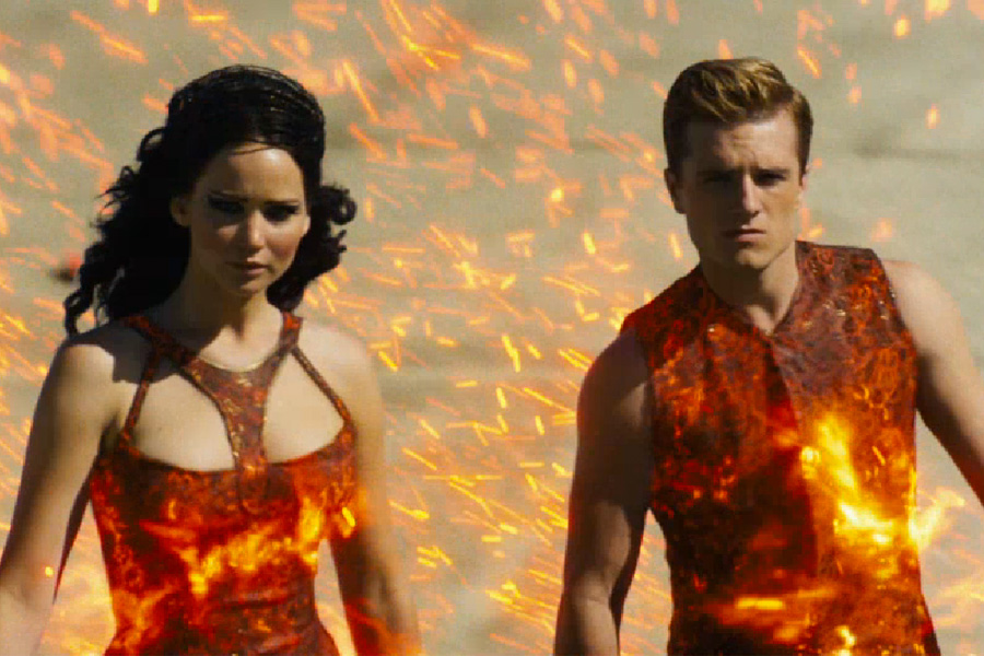 Hunger games catching fire review