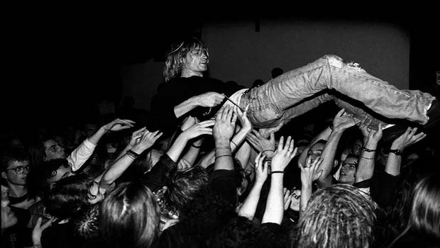 Nirvana Perform Live In Frankfurt
