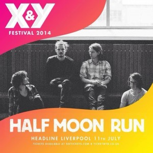 half moon run xy