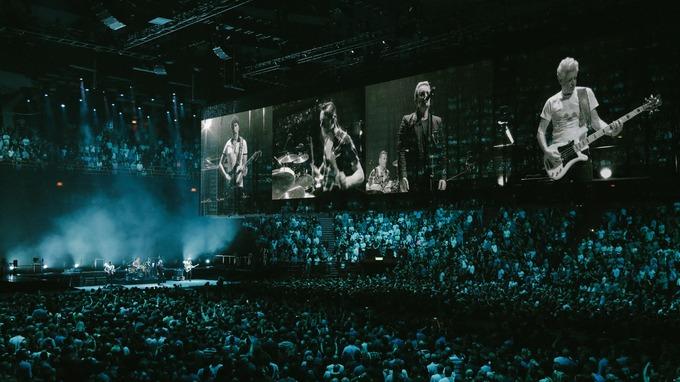U2 Live 02 Arena