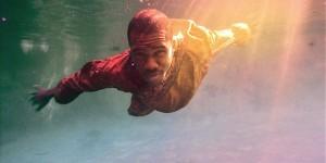 Frank Ocean swimming